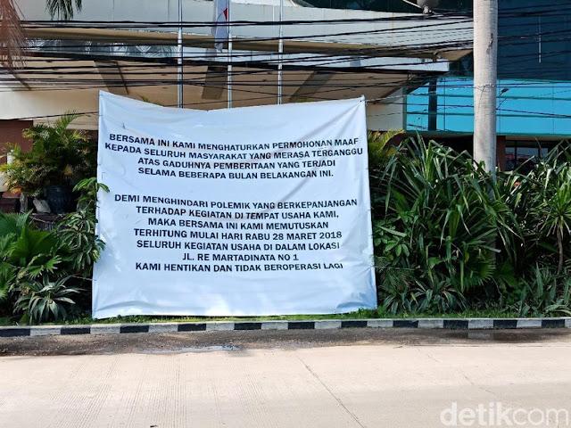Alexis Umumkan Tutup: Maaf atas Kegaduhan