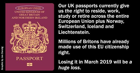 Jon Danzig S World The Loss Of Our Eu Passport
