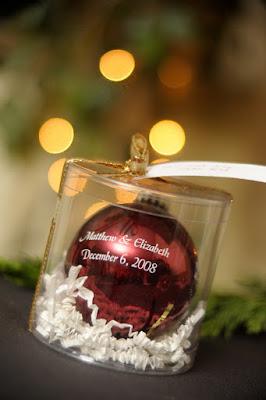 Lembrancinha personalizada bola de árvore de natal