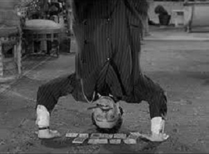 gomez addams zen yogi yoga cards headstand pino cartas puro cigar the famiy fester morticia