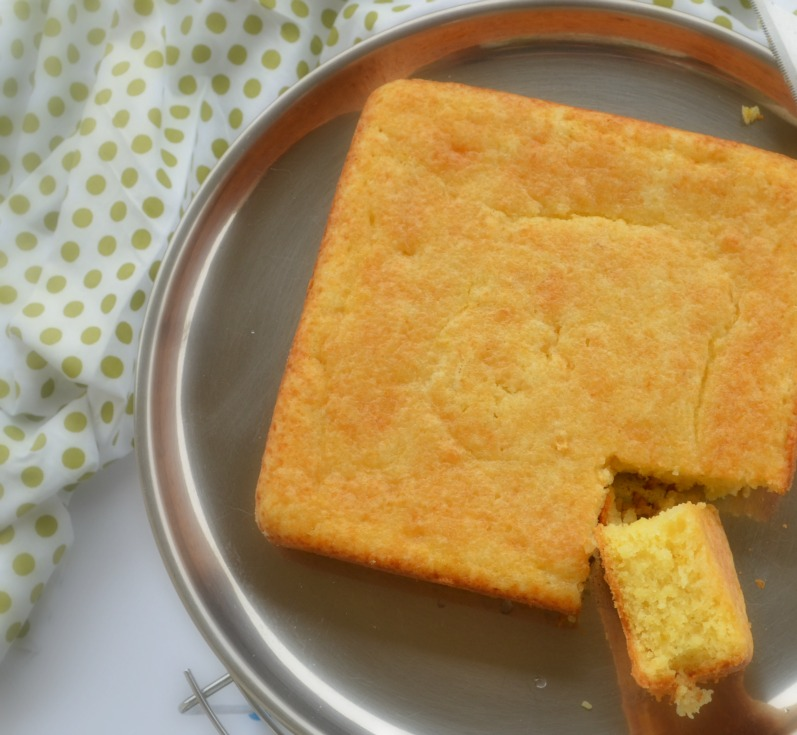 Eggless Lemon Drizzle Cake Recipe | How to bake eggless lemon drizzle cake