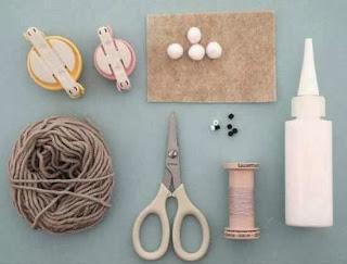 Macam Kerajinan Tangan, Cara Membuat Kelinci Wool 1
