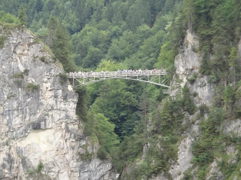 Ponte Marienbrucke no Castelo de Neuschwanstein