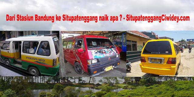 Dari Stasiun Bandung ke Situpatenggang naik apa ? - SitupatenggangCiwidey.com