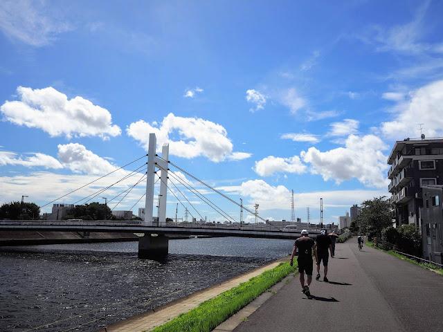 鶴見川 森永橋