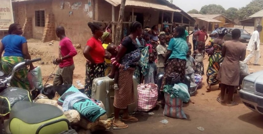40,000 displaced indigenes benue state