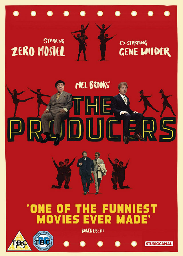 THE PRODUCERS 50th Anniversary Edition dvd