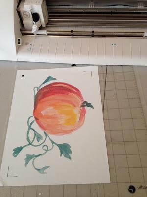 Silhouette, Silhouette Studio, watercolors, fall designs, fonts, Silhouette Cameo