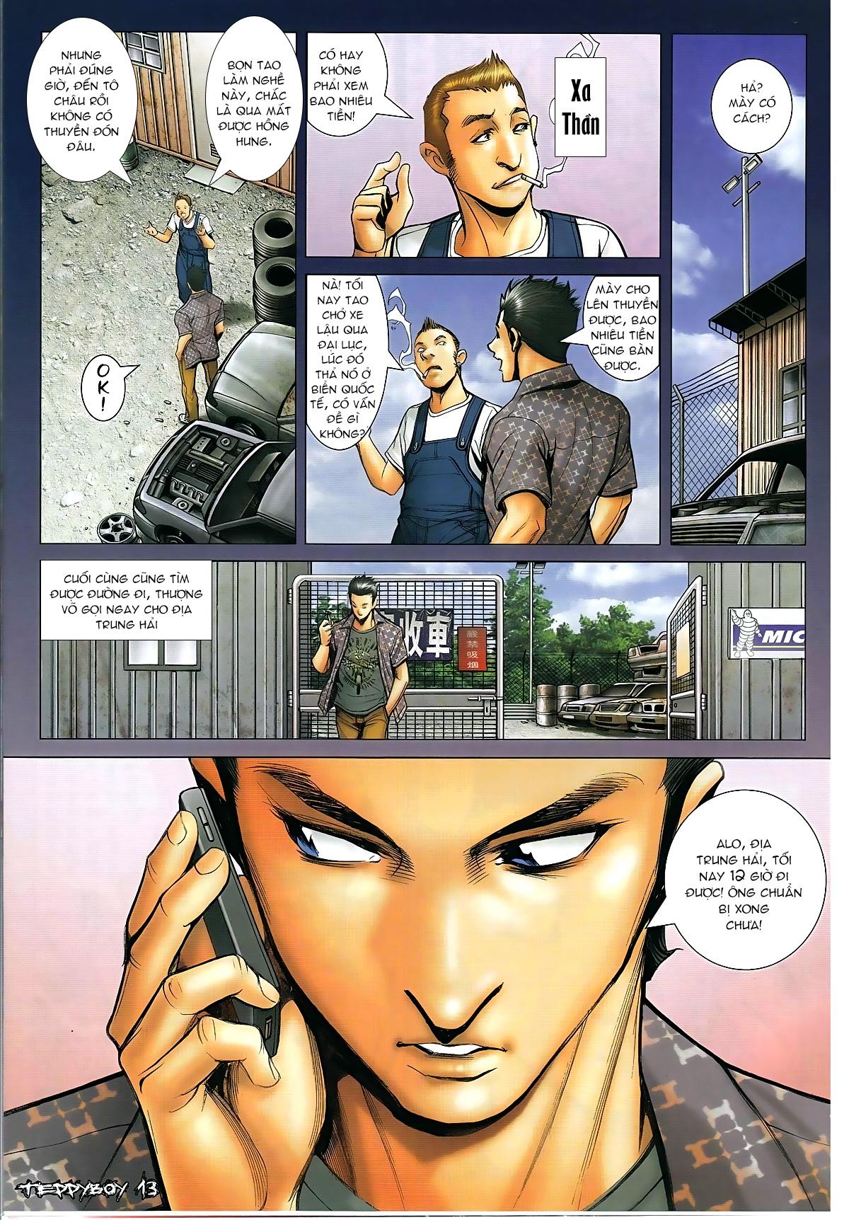 Người Trong Giang Hồ - Chapter 1316: Trả thù cho Cha - Pic 13