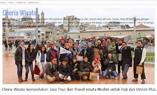 Paket Tour Wisata Halal
