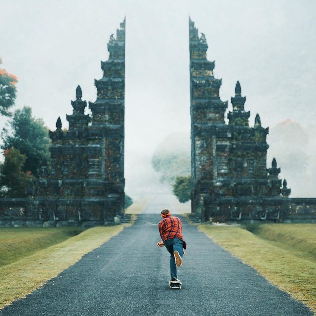 17 Real Places That Are Probably Portals To The Wizarding World - This amazing gate in Bali, Indonesia