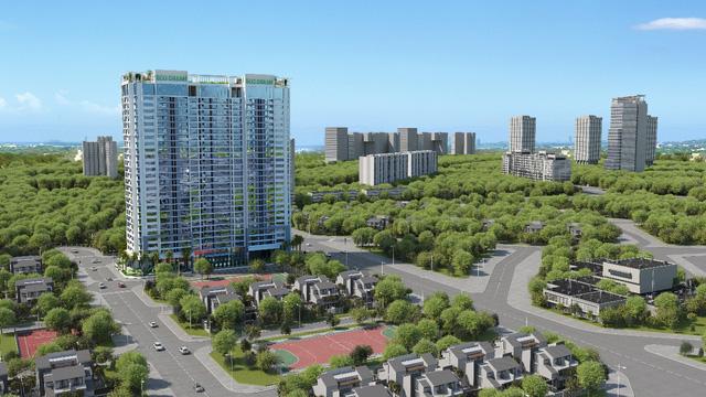Phối cảnh dự án chung cư Eco Dream