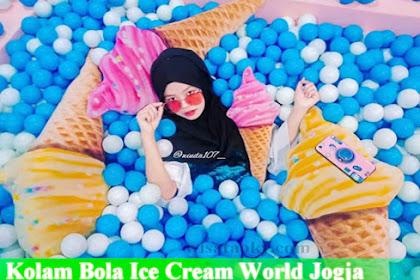 Alamat dan Harga Tiket Masuk Ice Cream World Jogja, Tempat Selfie yang Lagi Hits