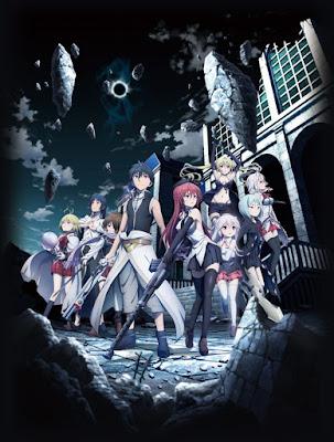 Imagen promocional de la película Trinity Seven: Yuukyuu Toshokan to Renkinjutsu Shoujo