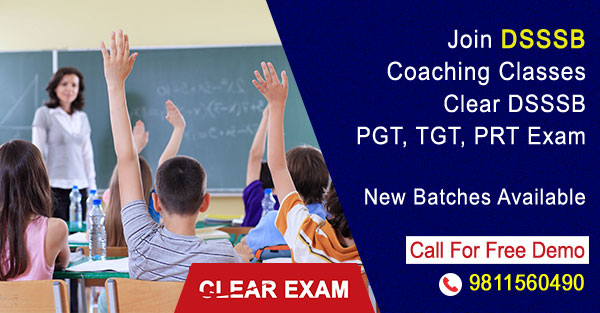 DSSSB Coaching Classes