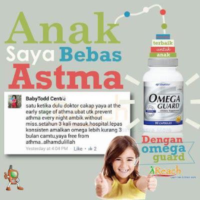 Image result for testimoni omega guard untuk asma