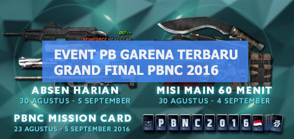 Event Point Blank Garena Indonesia - Grand Final PBNC 2016