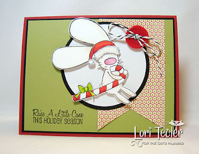 Raise a Little Cane this Holiday Season-designed by Lori Tecler-Inking Aloud-stamps from The Cat's Pajamas