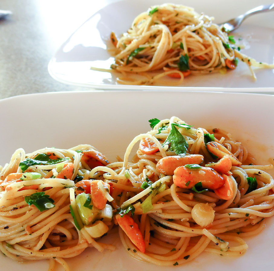 OnTheMove-In The Galley: Asian Noodle Salad