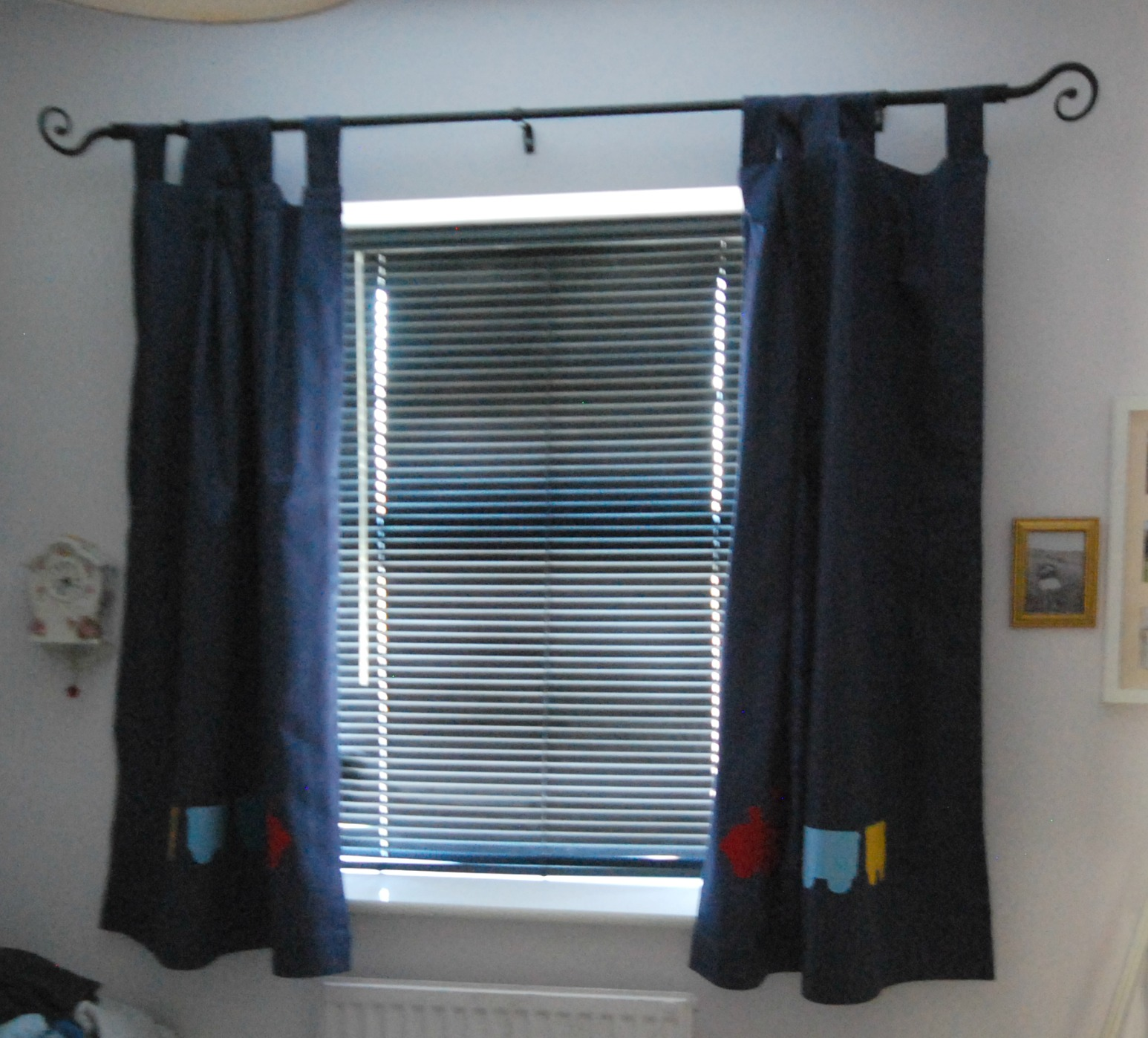 How To Shorten Curtains Without Sewing
