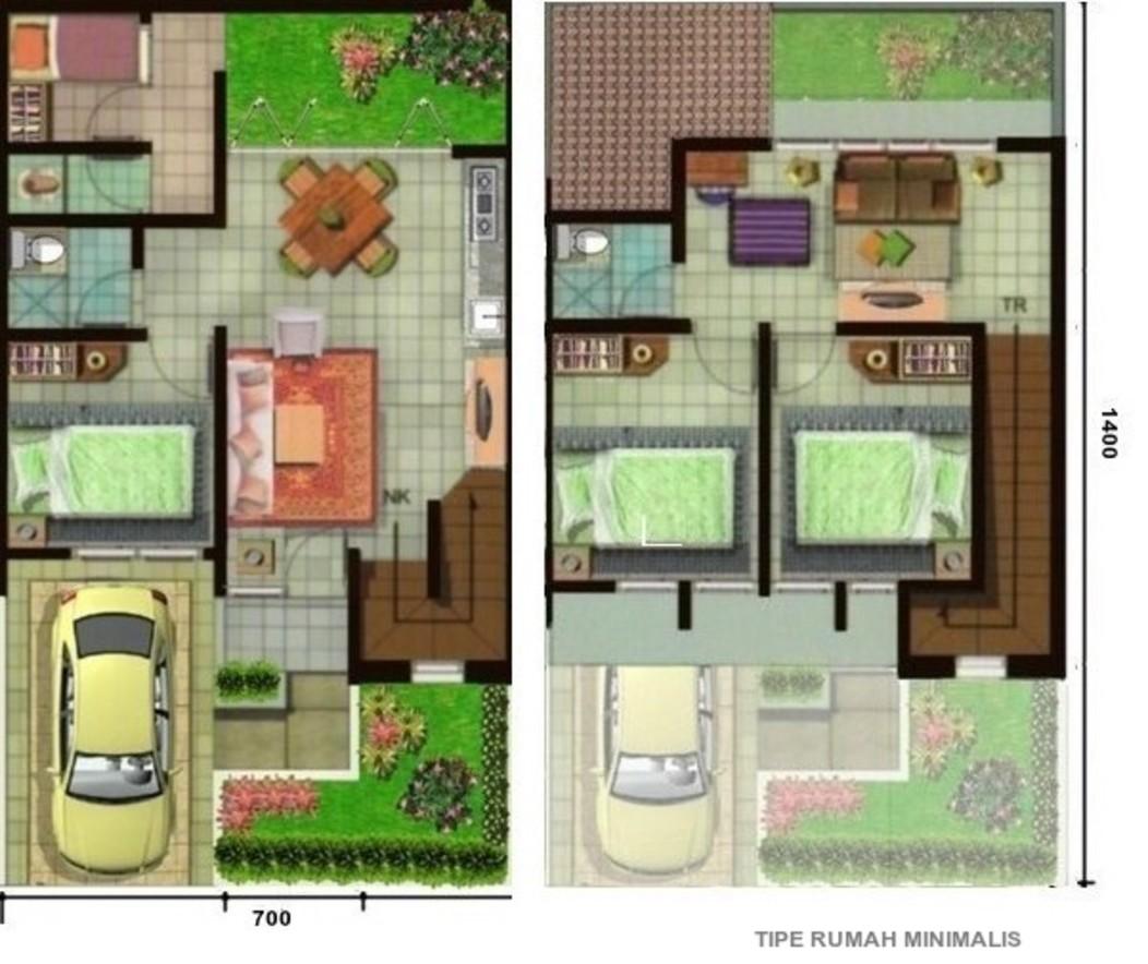Home Design Interior Singapore Rumah 7 X 14 2 Lantai
