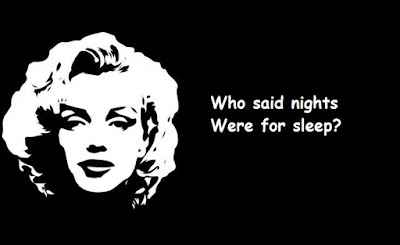 """Marilyn Monroe Quotes About Night"""