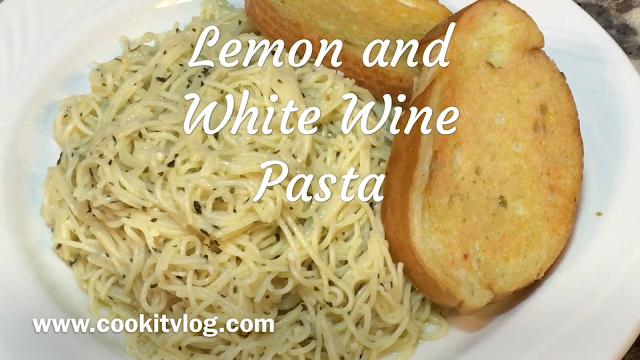 Lemon and White Wine Pasta Recipe