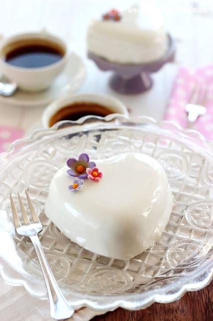 Receta Cobertura Espejo de chocolate Blanco