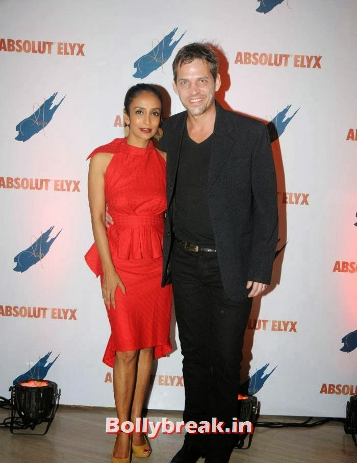 Suchitra Pillai, Lars Kjeldsen, Suchitra Pillai Hosted Absolute Elyx Party