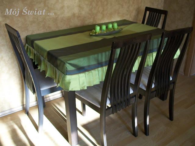 Nakrycie stołu - pomysł na obrus