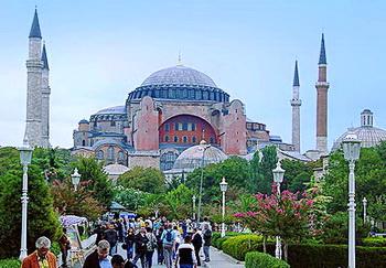 Tempat wisata terkenal di Turki istambul Istanbul Hagia Sophia Ayasofya