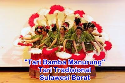 tari tradisional sulawesi barat