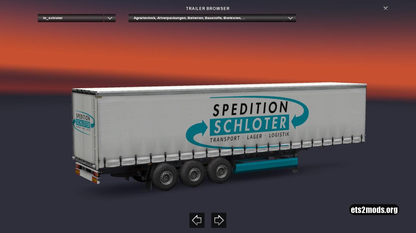 Spedition Schloter Trailer