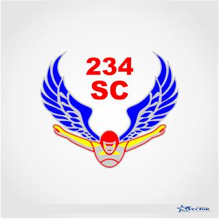 234 SC Logo Vector cdr Download