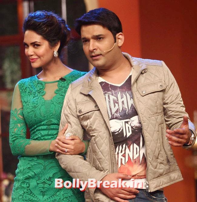 Esha Gupta and Kapil Sharma, Esha Gupta, Tamanna, Humshakals Cast on CNWK