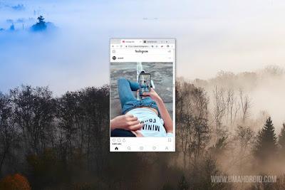 Instagram PC via Chrome