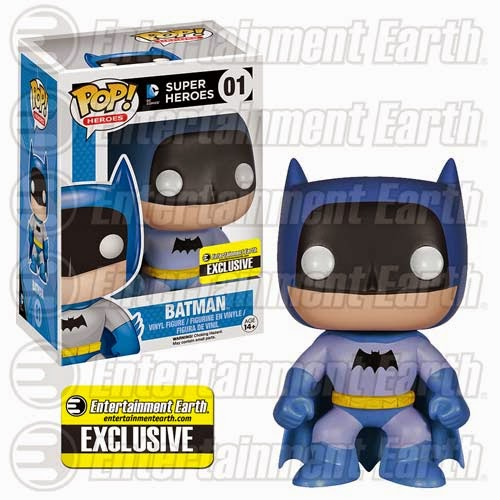 Entertainment Earth Exclusive The Rainbow Batman Pop! Series by Funko - Blue Batman