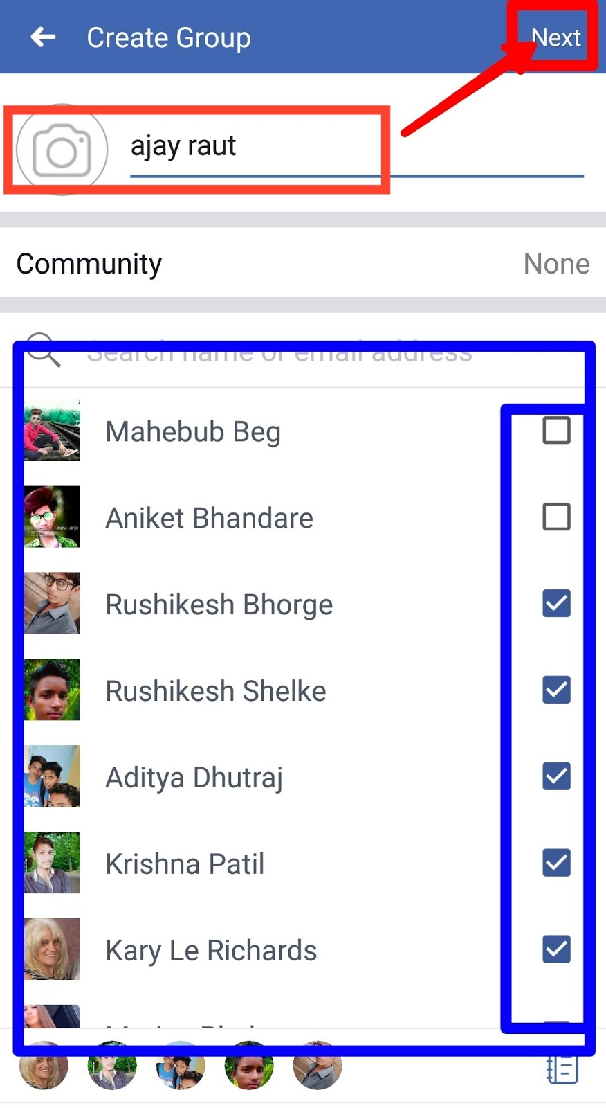 how to create a group on facebook