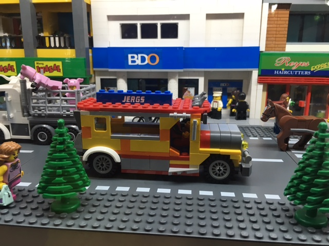 LEGO Philippine Jeepney at Brick Burger Hampton Gardens