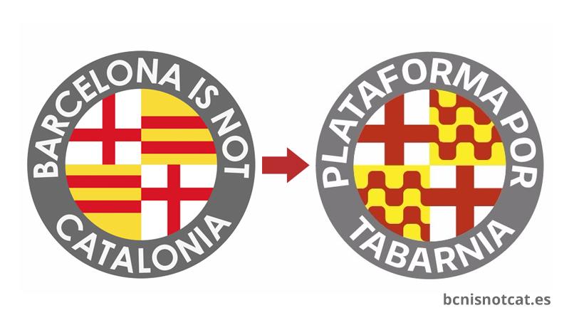 Barcelona is not Catalonia pasará a denominarse Plataforma por Tabarnia