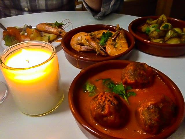 Caffi Castell Tapas Restaurant: Tapas