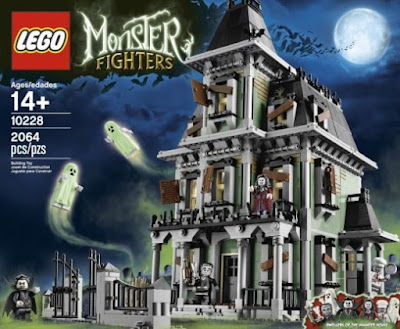 Lego Halloween Haunted House Set 10228