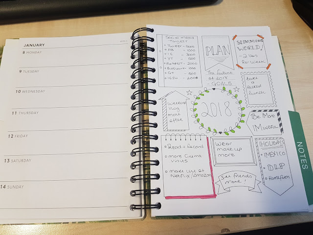 Blog & YouTube Planner 2018 from TK Maxx