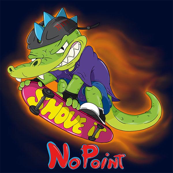 "NoPoint stream new EP ""Shove It"""