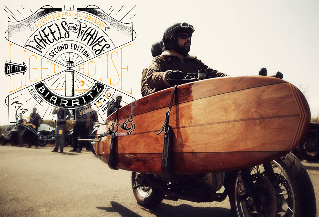 wheels and waves 2 video coverage return of the cafe racers. Black Bedroom Furniture Sets. Home Design Ideas