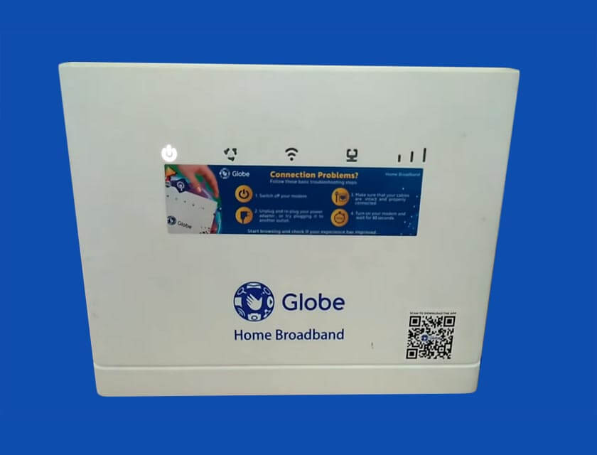 How to Reset Globe Home Broadband Wi-Fi Modem / Router