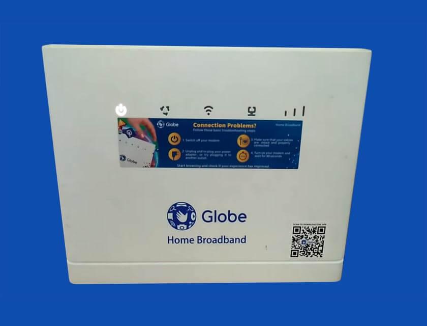 Reset Globe Home Broadband Modem