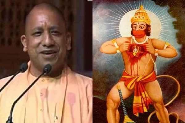 uttar-pradesh-chief-minister-yogi-adityanath-visit-bada-hanuman-mandir