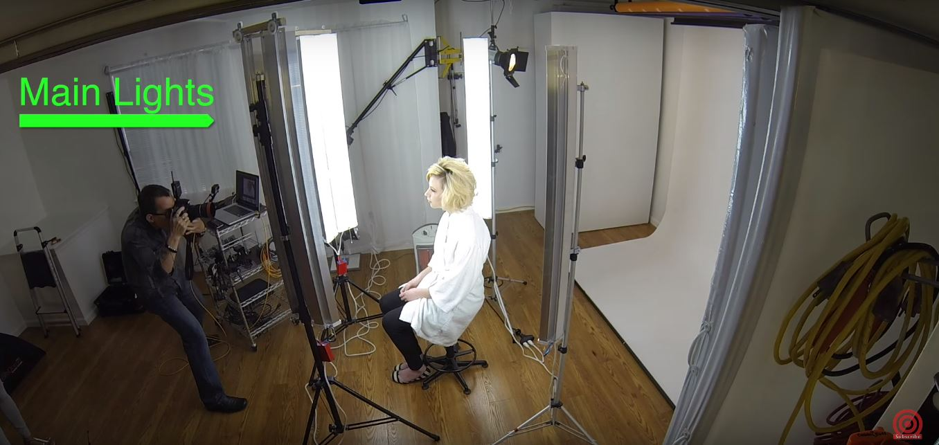 Portrait Lighting Arrangements for the DIY LED Studio