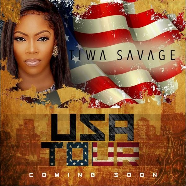 Tiwa Savage Set for US Tour